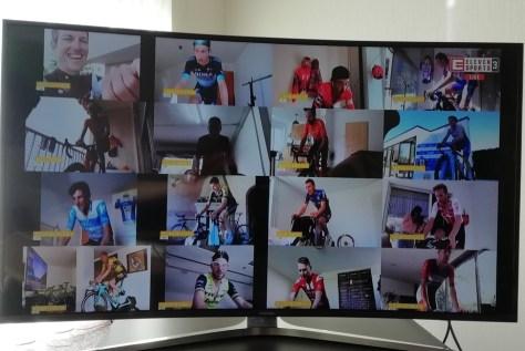 Rohan Dennis vence etapa virtual da montanha na Suíça, Remco Evenepoel sétimo