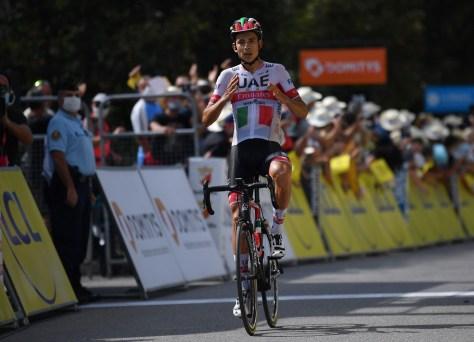 Não há três em três para o Jumbo-Visma em Dauphiné: o italiano Formolo continua fora do alcance dos toppers