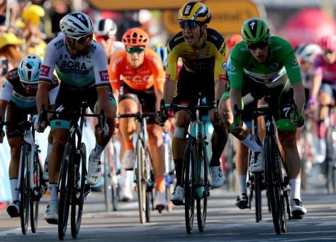 Peter Sagan está fazendo uma coisa muito ruim na luta pela camisa verde
