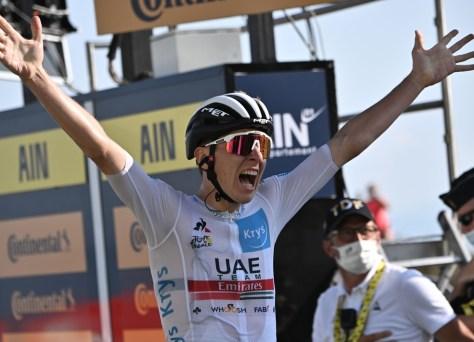 Resultados da fase 15 do Tour de France.  Pogacar vence Roglic no Grand Colombier, Bernal perde mais de sete minutos