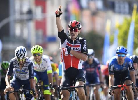 John Degenkolb corre em Luxemburgo para a primeira vitória com a camisa da Lotto-Soudal