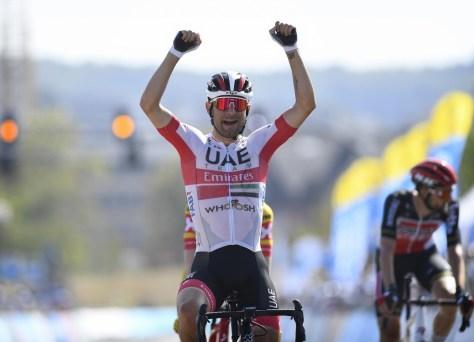Aimé De Gendt em segundo lugar no Tour de Luxembourg, Diego Ulissi vence na segunda etapa e se torna líder