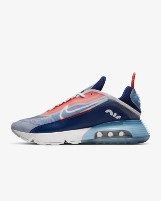 Nike Air Max 2090 'Chile Red / Royal Blue' .97 Free Shipping