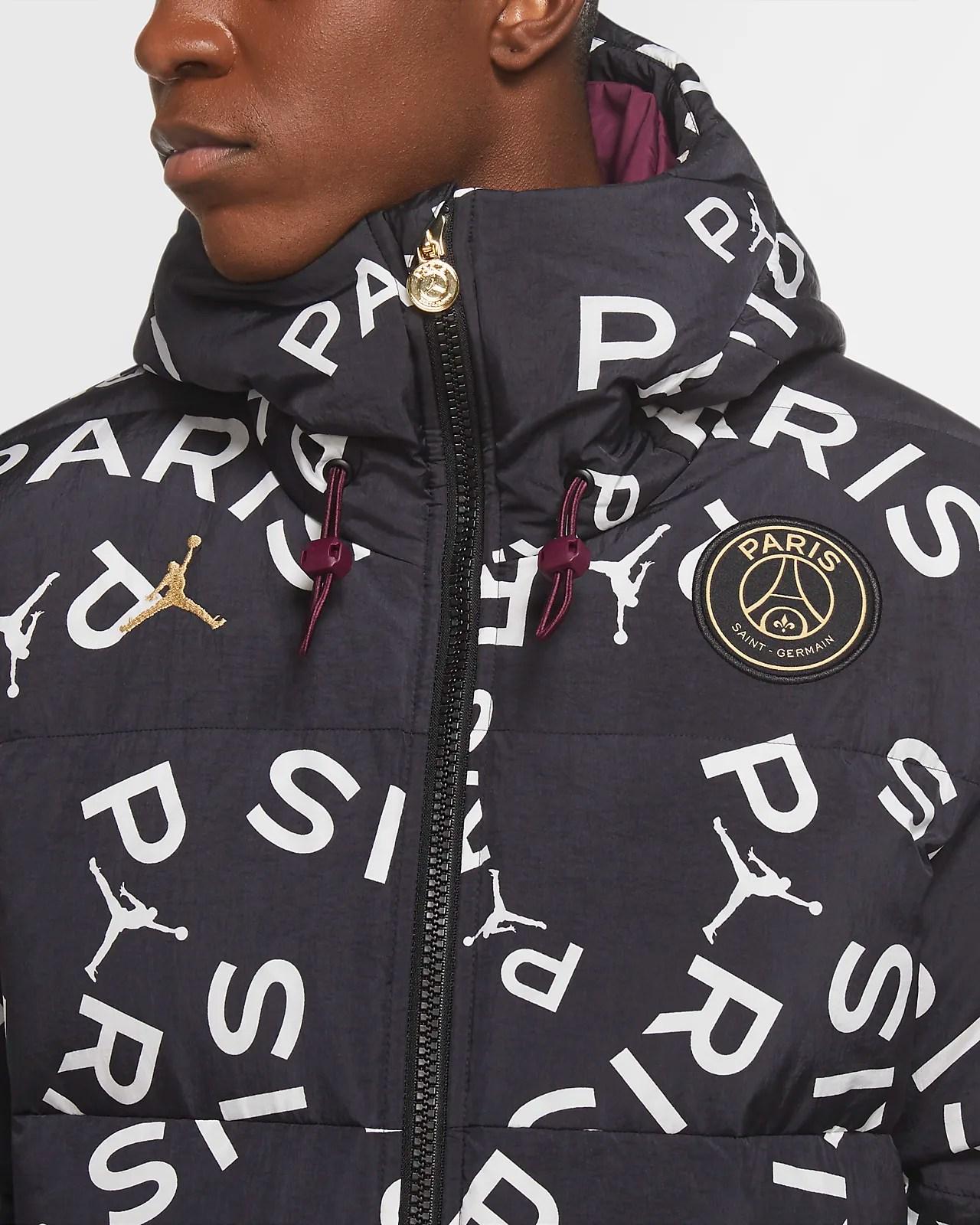 paris saint germain men s down parka