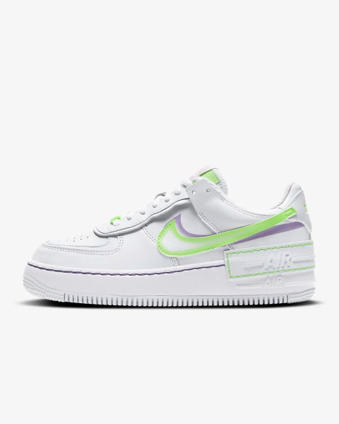 Women's Nike Air Force 1 Shadow 'Violet Shock' .97 Free Shipping