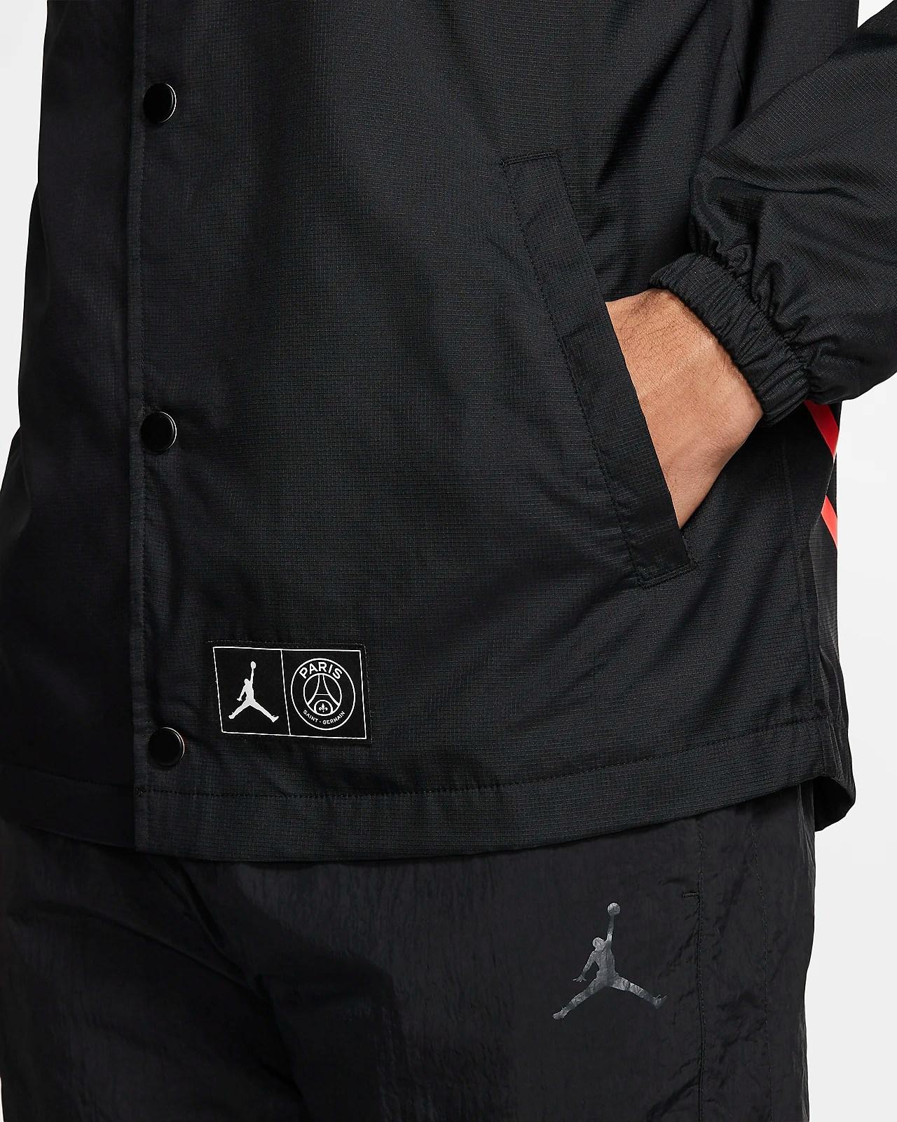 موسيقى الترانزستور المسنين nike jordan x psg coaches jacket