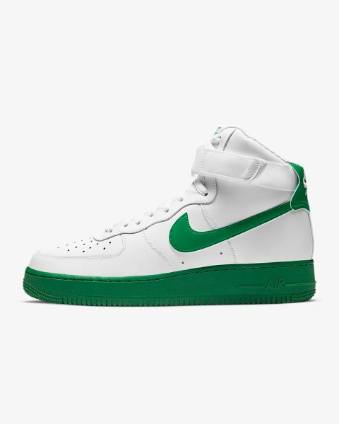 Nike Air Force 1 High '07 'White / Lucky Green'