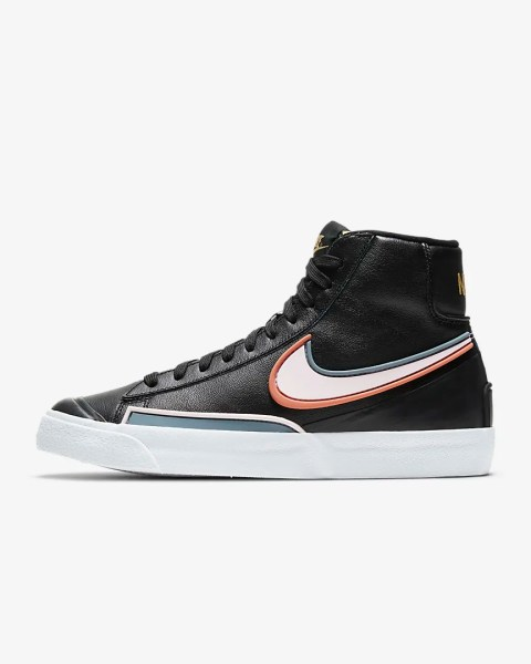 Nike Blazer Mid '77 Infinite 'Black / Healing Orange'