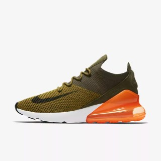 Nike Air Max 270 Flyknit 'Olive Flak' .97 Free Shipping