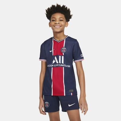 paris saint germain 2020 2021 stadium home older kids football shirt
