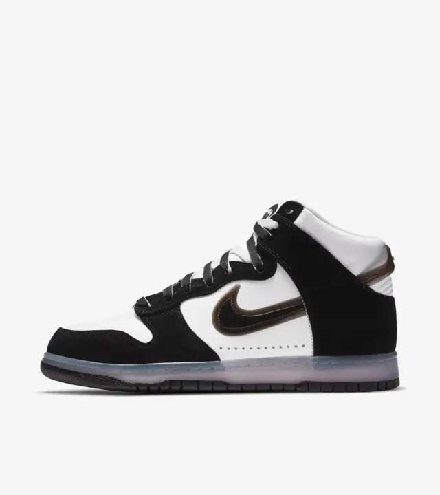 Nike Dunk High x Slam Jam 'Clear Black'