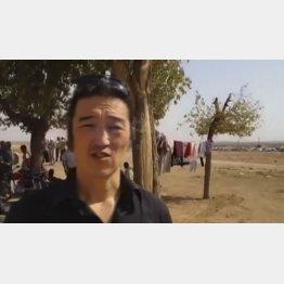シリア北部で取材活動をしていた後藤氏 (C)AP