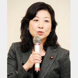出馬を断念した野田聖子前総務会長(C)日刊ゲンダイ