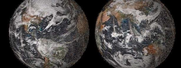 NASA publica fotografia da Terra composta por 36 mil selfies
