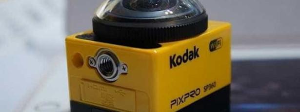 Kodak lança 'action cam' com imagens a 360 graus