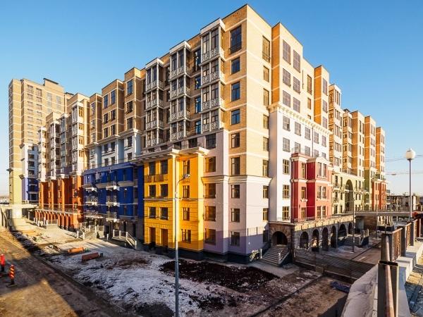 Фото и ход строительства ЖК Солнечная Система в Московской ...