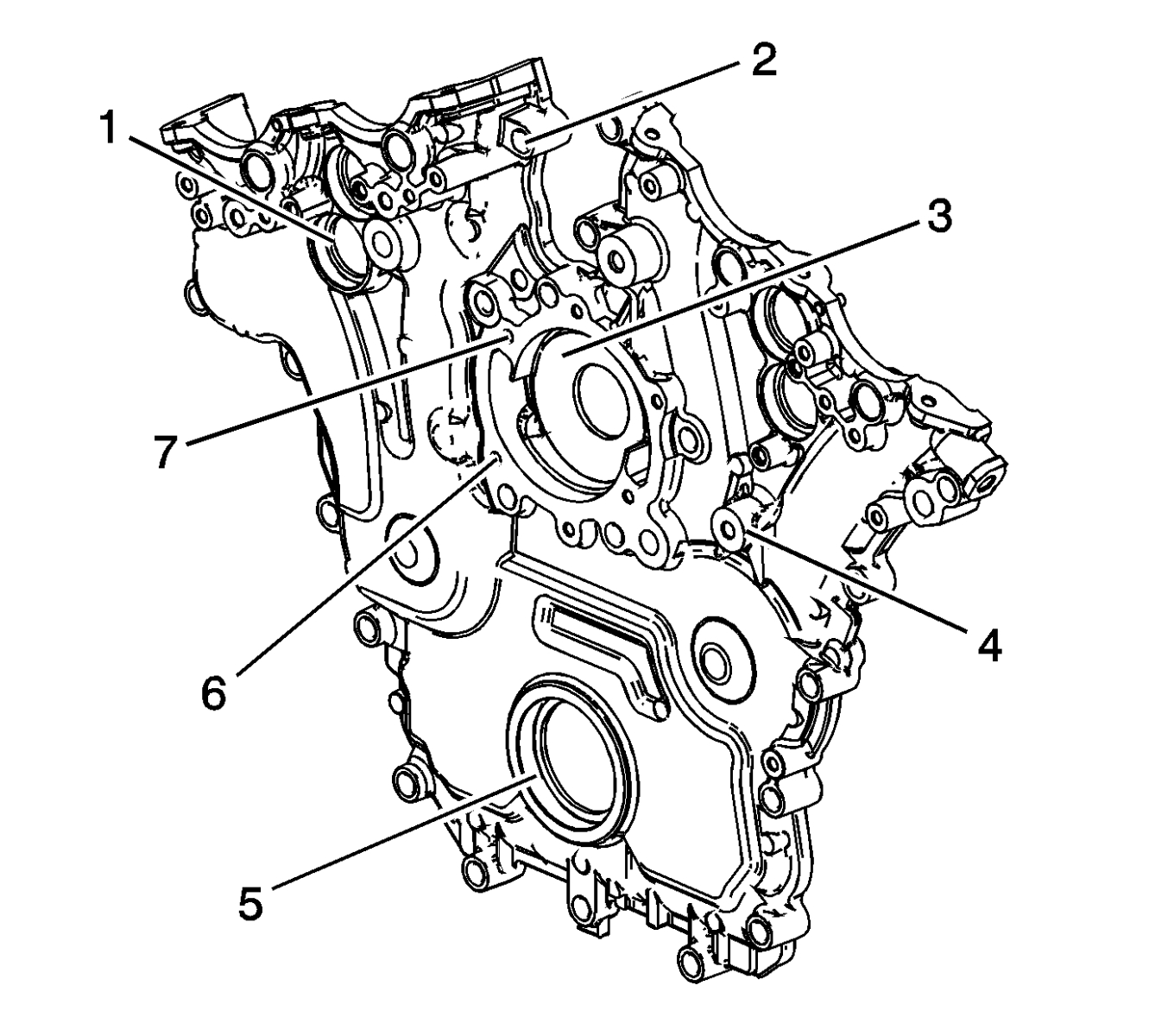 Repairing Engine Front Cover Oil Leak Gm