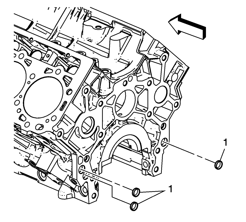 Rear Of Engine Oil Leak Chevrolet Amp Gmc 6 6l