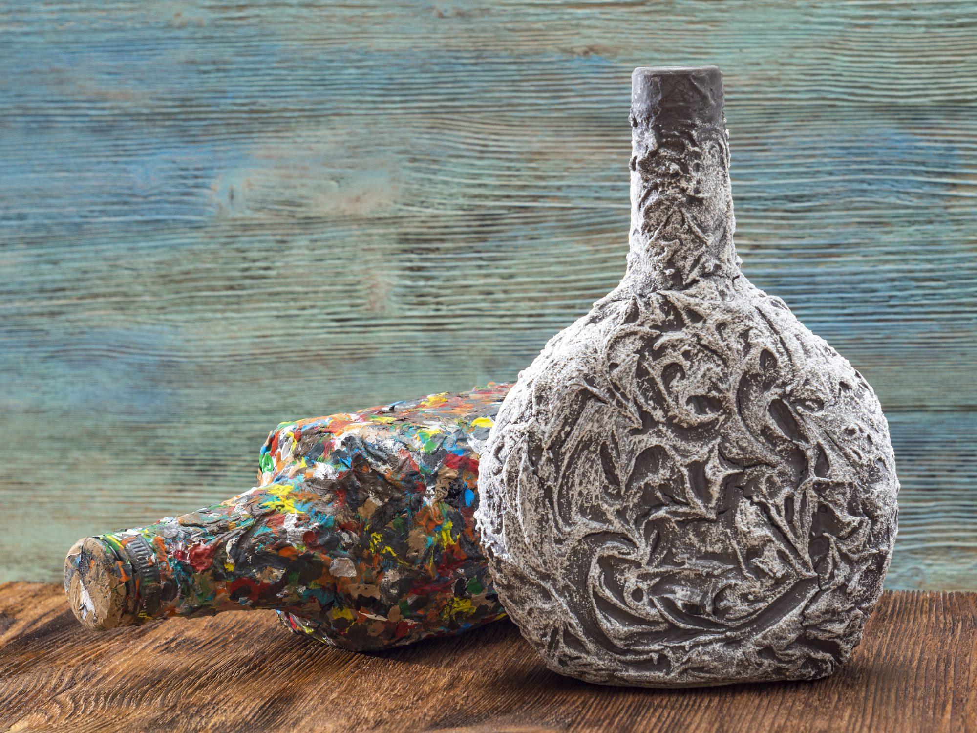piatti di ceramica fatti a decoupage, per 1 pensierino sono ottimi. Come Fare Decoupage Su Vetro La Tecnica Passo Dopo Passo Ohga