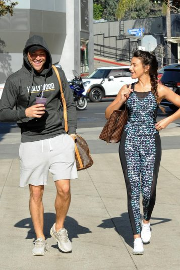 efb9ba4b84077 ... Michelle Keegan leave Equinox Gym in West Hollywood together  Wenn .     Fee set at £200 for use of this set online