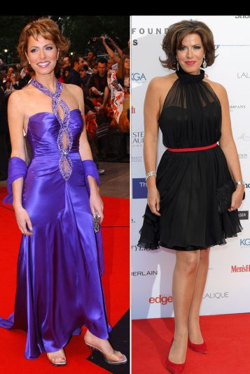 Strictly Come Dancing winners Natasha Kaplinsky then and now 2004