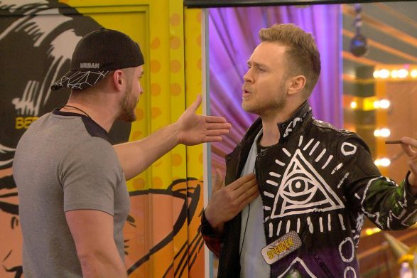 Celebrity Big Brother 2017 spoilers Austin Armacost and Spencer Pratt water