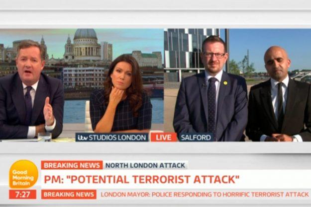 Good Morning Britain: Piers Morgan wasn't happy at all