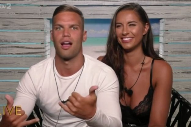 Love Island Aftersun: Dom Lever did a dance and gesture with his hands to talk about the steamy night of passion in the hideaway