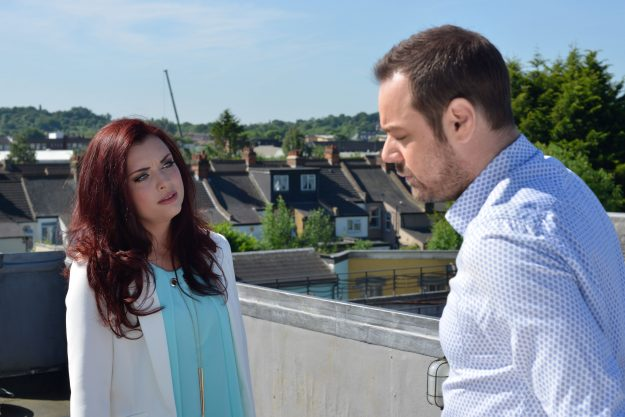 EastEndes: Whitney Dean returns with huge news for Mick Carter
