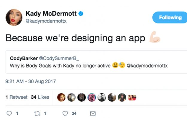 Kady Shared A Cryptic Tweet Telling Fans You U0027canu0027t Trust Anyone In This  Industryu0027 [Kady McDermott/Twitter]