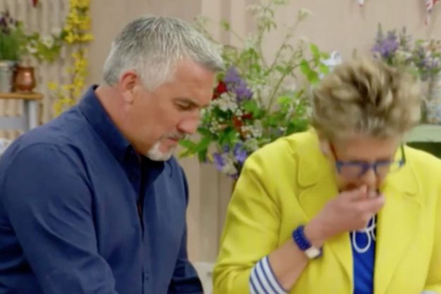 Great British Bake Off: Contestant Chris was stunned as Prue Leith spat out her food
