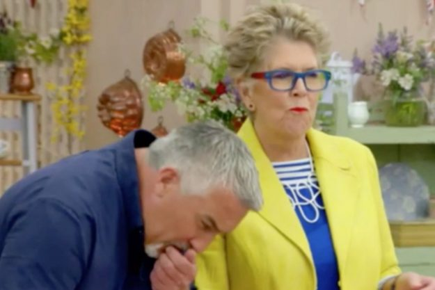 Great British Bake Off: Contestant Chris was stunned as Paul Hollywood spat out his food