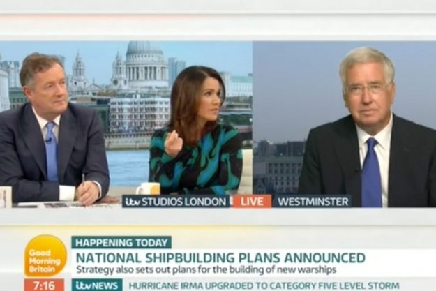 Good Morning Britain: Susanna Reid forced to apologise after a camera breaks down in the middle of a live interview