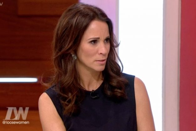 Loose Women: Andrea McLean asked Nadia Sawalha why she looked at her vagina