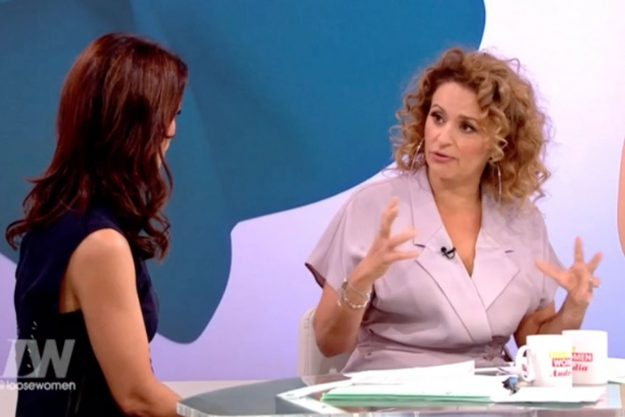 Loose Women: Nadia Sawalha admitted she cried over her 'deformed' vagina