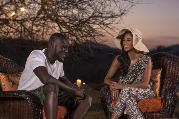 This image and the information contained herein is strictly embargoed until 00.01 Tuesday 17th October 2017 From Syco / Thames The X Factor: SR14: Judges Houses on ITV Pictured: Nicole and Stormzy. This photograph is (C) Syco / Thames and can only be reproduced for editorial purposes directly in connection with the programme or event mentioned above, or ITV plc. Once made available by ITV plc Picture Desk, this photograph can be reproduced once only up until the transmission [TX] date and no