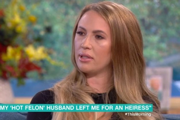 This Morning: Melissa Meeks broke down as she discussed her split from Jeremy Meeks