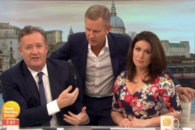 Good Morning Britain: Jeremy Kyle STORMED the set of the ITV chat show on Wednesday morning
