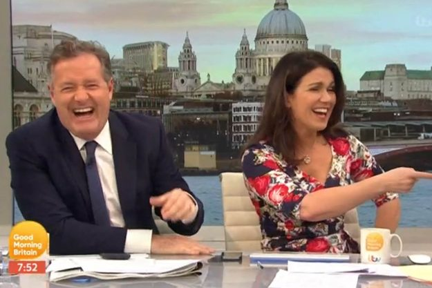 Good Morning Britain: Susanna was left in hysterics as she cast doubt on whether Jeremy had helped the situation