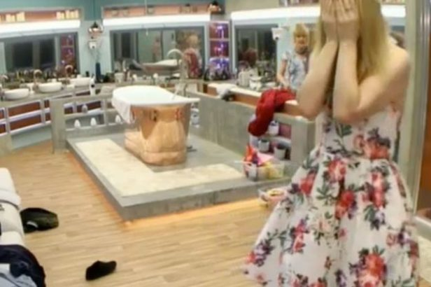 Celebrity Big Brother: Wayne Sleep accidentally flashed the women