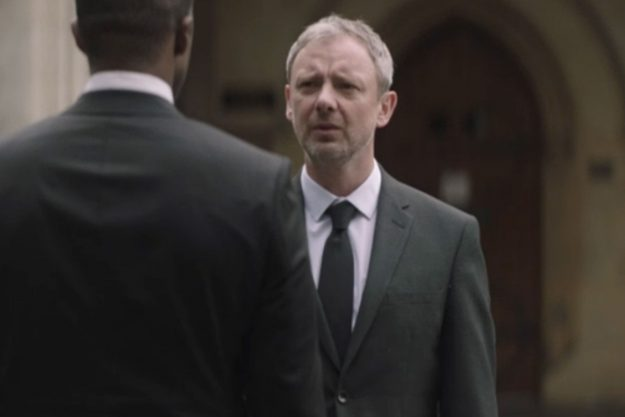 Trauma ITV: Dan Bowker, played by John Simm, was left devastated by his son Alex Bowker's death