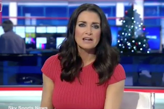 Kirsty Gallacher denies being drunk on Sky Sports News