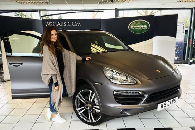 Pregnant Binky Felstead Poses Next To Brand New Porsche As Baby Needed Bigger Boot Royal Things