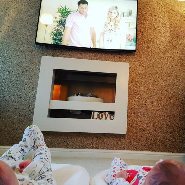 Kieron Richardson shared this heart-melting snap of his babies