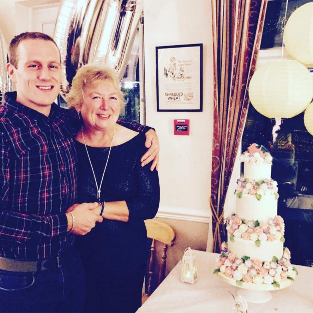 The Bake Off contestant said his mum is his baking inspiration