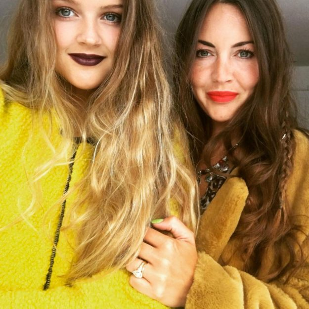Lacey Turner with her sister Lily Harvey who also starred in EastEnders