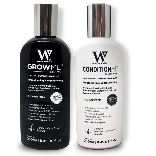 Watermans Grow Me and Condition Me shampoo and conditioner have been hailed 'a miracle'