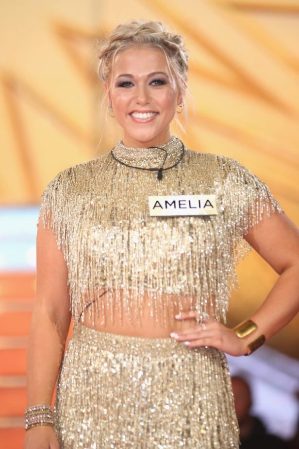 Amelia Lily enters the Big Brother House for the Celebrity Big Brother
