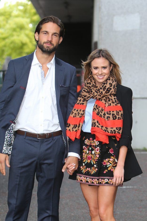 Camilla Thurlow and Jamie Jewitt together