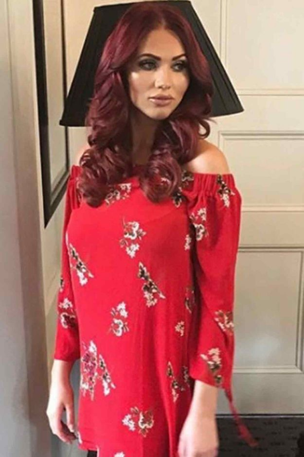 Amy Childs red dress